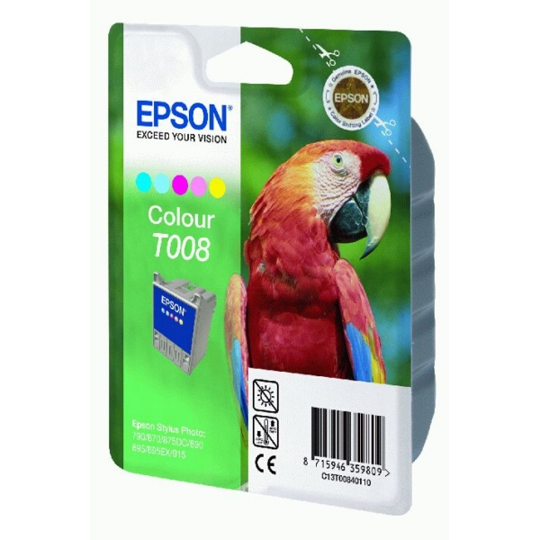 Epson C13T00840110 (T008) Ink cartridge color, 220 pages, 46ml