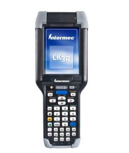 """Intermec CK3R PDA 8,89 cm (3.5"""") 240 x 320 Pixels Touchscreen 401 g Zwart, Zilver"""