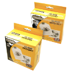 Fellowes 90691 Sleeve case 1 discs Transparent, White
