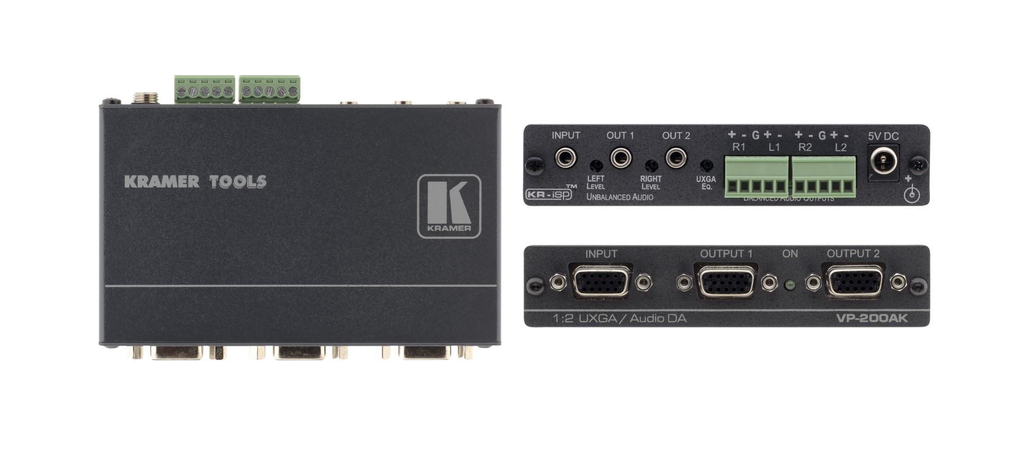Kramer Electronics VP-200AK 510MHz video line amplifier