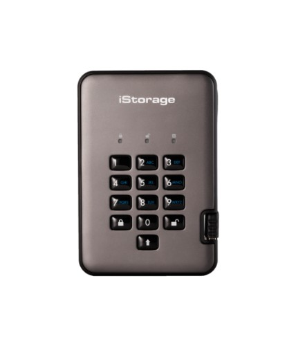 iStorage diskAshur PRO2 128GB Black, Graphite