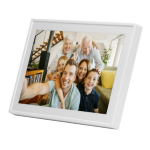 "Denver Electronics PFF-711WHITE 7"" Touchscreen Wi-Fi digital photo frame"