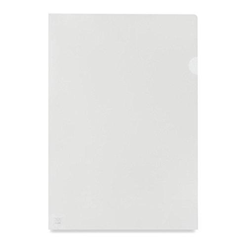 Pro Office Value Cut Flush Folder Clear A4 Orange Peel Med Weight PK100