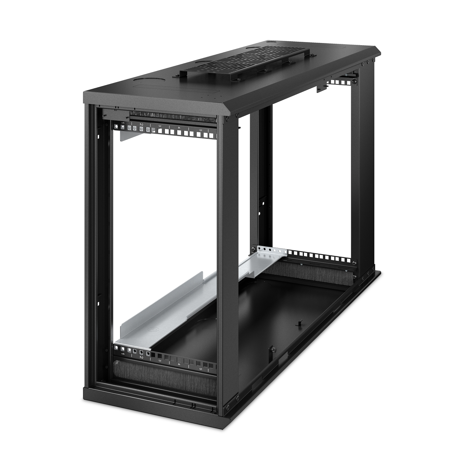 APC AR106VI rack cabinet 6U Wall mounted rack Black