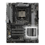 Asrock X299 OC FORMULA, Intel X299, 2066, ATX, 4 DDR4, SLI/XFire, Dual GB LAN, RGB Lighting