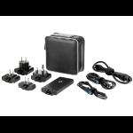 HP 65W Smart Travel AC Adapter Indoor 65W Black