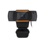 Adesso CyberTrack H2 480p Webcam with built in microphone.