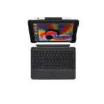 Logitech Slim Combo mobile device keyboard Schwarz QWERTZ Schweiz Bluetooth