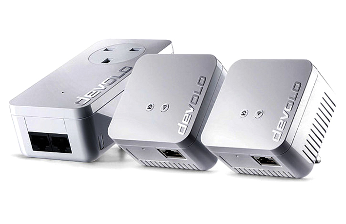 Devolo dLAN 550 WiFi Network Kit 500Mbit/s Ethernet LAN Wi-Fi White 3pc(s) PowerLine network adapter