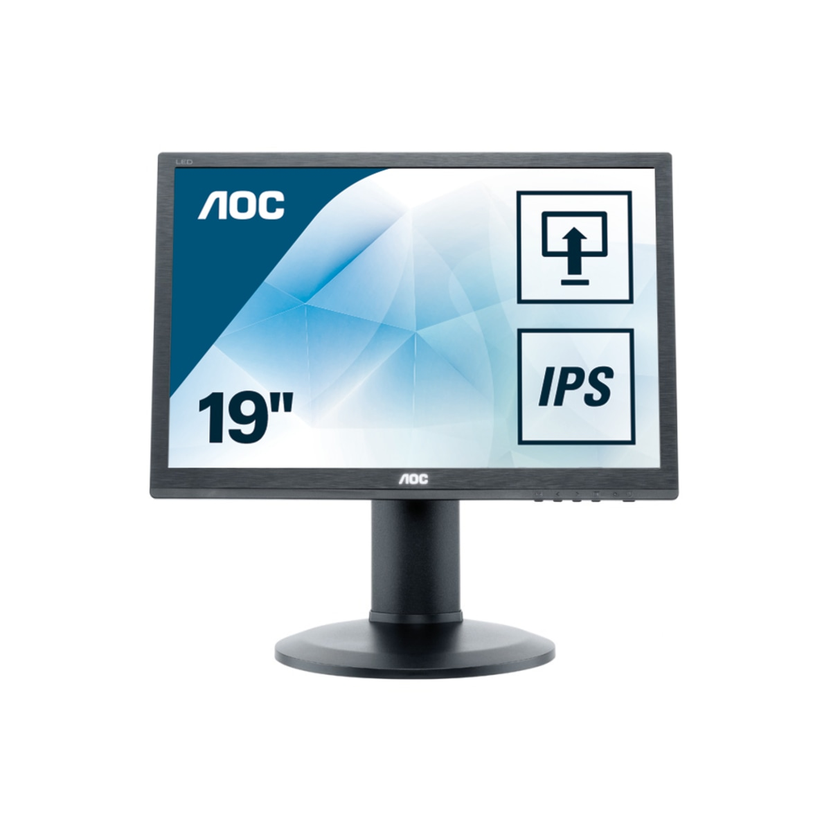 Monitor LCD 19in I960prda 178/178 1280x1024@75hz 1000:1 250cd/m2 6ms D-sub DVI Pivot