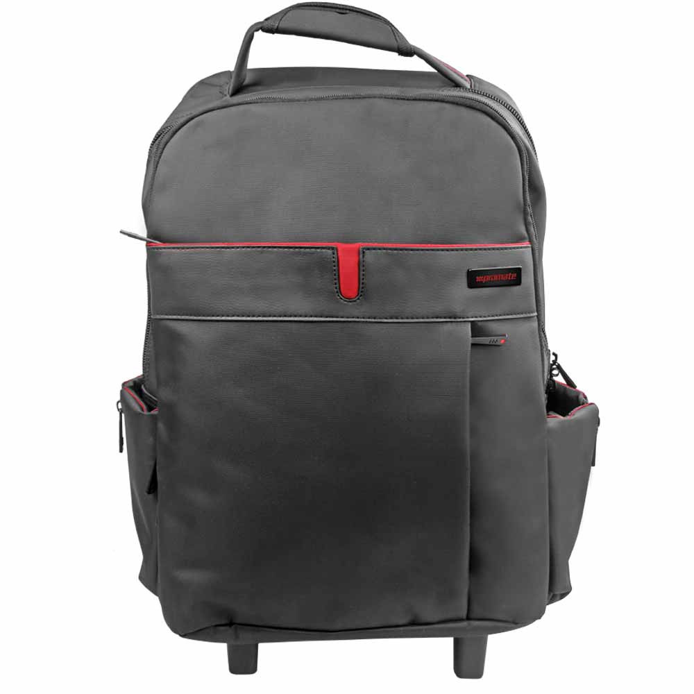 """Promate """"trolleyPak-1"""" Premium Multi-purpose Portable Trolley Bag for Laptops up to 15.6"""""""