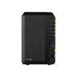 Synology DiskStation DS220+ NAS Desktop Ethernet LAN Black J4025 DS220+ + 2XST2000VN004