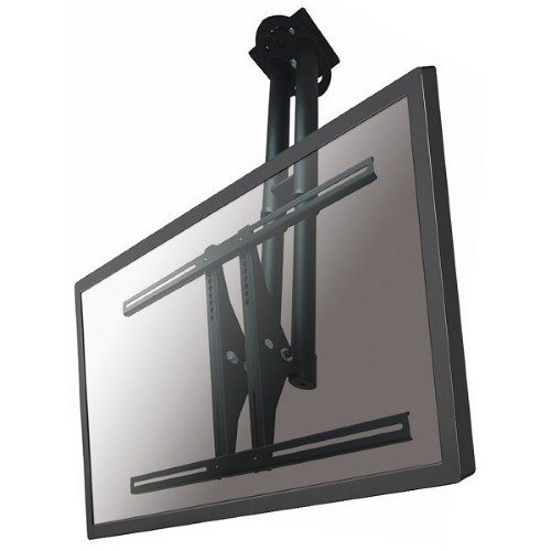 "Newstar TV/Monitor Ceiling Mount for 37""-75"" Screen, Height Adjustable - Black"