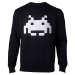 SPACE INVADERS Chenille Invaders Sweater, Male, Large, Black (SW324063SPI-L)