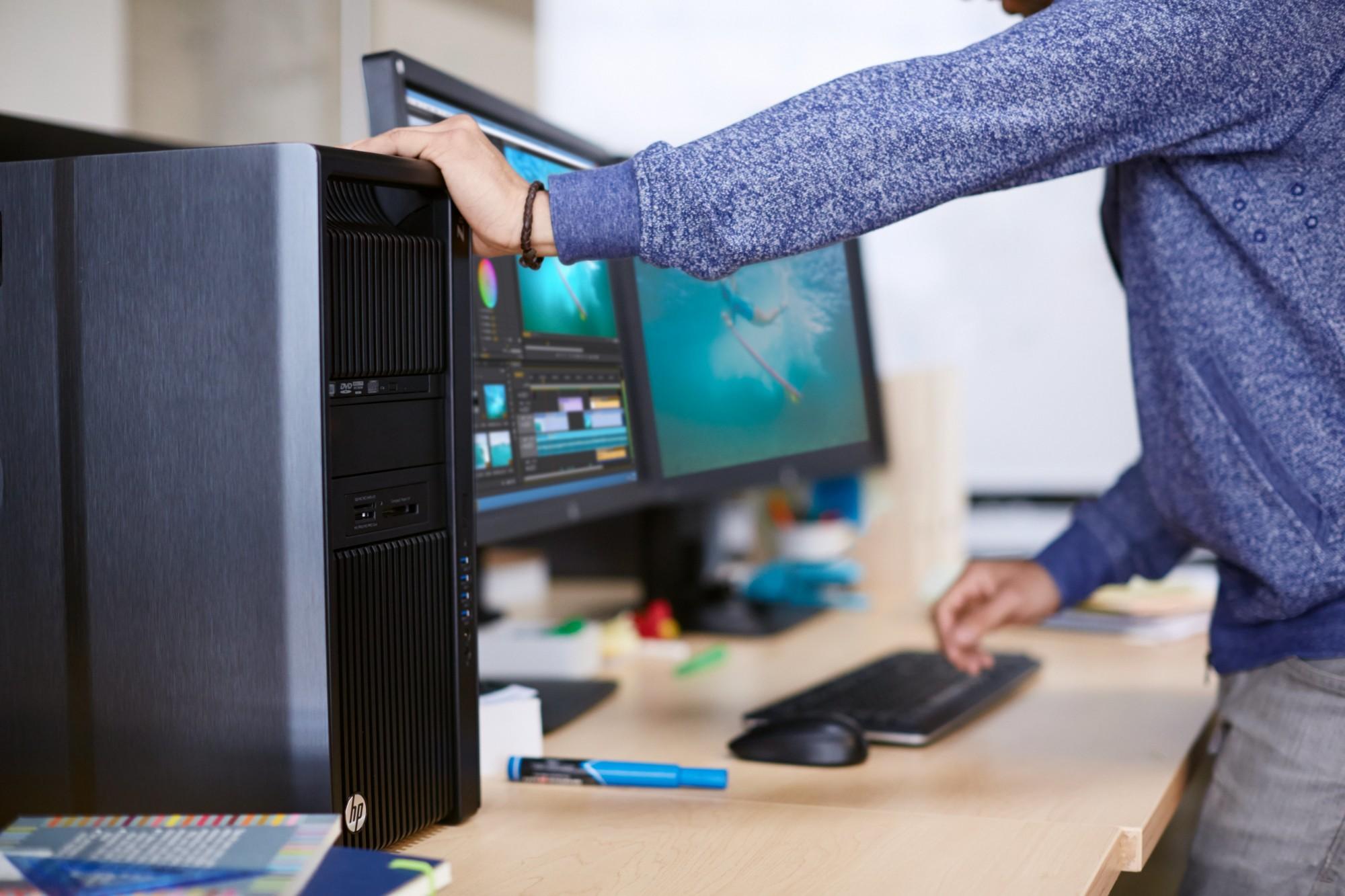 Hp Z440 Workstation Intel® Xeon® E5-2637 v4 3 5 8gb RAM 1TB