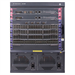 HP 7506 Switch with 2 48-port Gig-T PoE+ Modules and 384Gbps MPU with 2 XFP ports