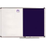Nobo Classic Combination Board Felt/Painted Steel 900x600mm