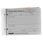 Chartwell L VEHICLE DEFECT REPORT PAD