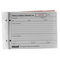 Chartwell L VEHICLE DEFECT REPORT PAD