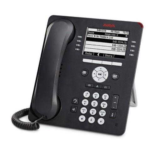 Avaya 9608G IP phone Grey Wireless handset LCD 8 lines