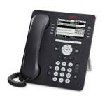 Avaya 9608G IP phone Grey Wireless handset LCD 8 lines