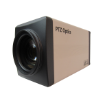 "PTZOptics ZCam 20X 2.07 MP CMOS 25.4 / 2.7 mm (1 / 2.7"") 1920 x 1080 pixels 60 fps Black, White"
