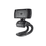 Trust Trino HD Video Webcam cámara web 8 MP USB Negro