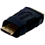 Cablenet HDMI-012G cable interface/gender adapter Mini HDMI Black