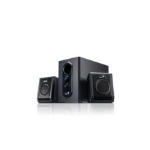 Genius SW-2.1 355 2.1channels 10W Black speaker set