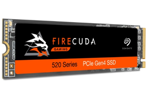Seagate FireCuda 520 M.2 500 GB PCI Express 4.0 3D TLC NVMe