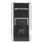 Opticon OPN-2006 1D Laser Zwart, Zilver Handheld bar code reader