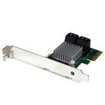 StarTech.com 4-poorts PCI Express 2.0 SATA III 6 Gbps RAID-controllerkaart met HyperDuo SSD Tiering