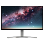 "LG 24MP88HV 23.8"" Full HD IPS Black, Silver, White Flat computer monitor"