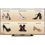 "Sharp PN-LE601 signage display 60"" LCD Full HD Digital signage flat panel Black"