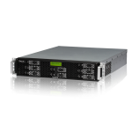 Thecus N8880U NAS Rack (2U) Ethernet LAN Black storage server
