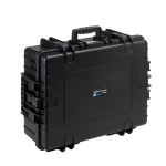 B&W 6500/B/SI equipment case Briefcase/classic case Black
