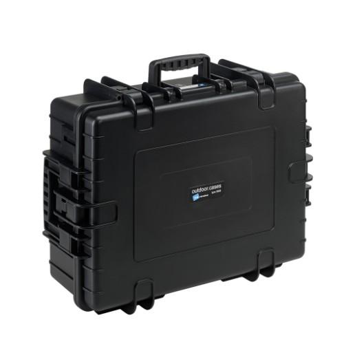 B&W 6500/B/SI equipment case Briefcase/classic case Black