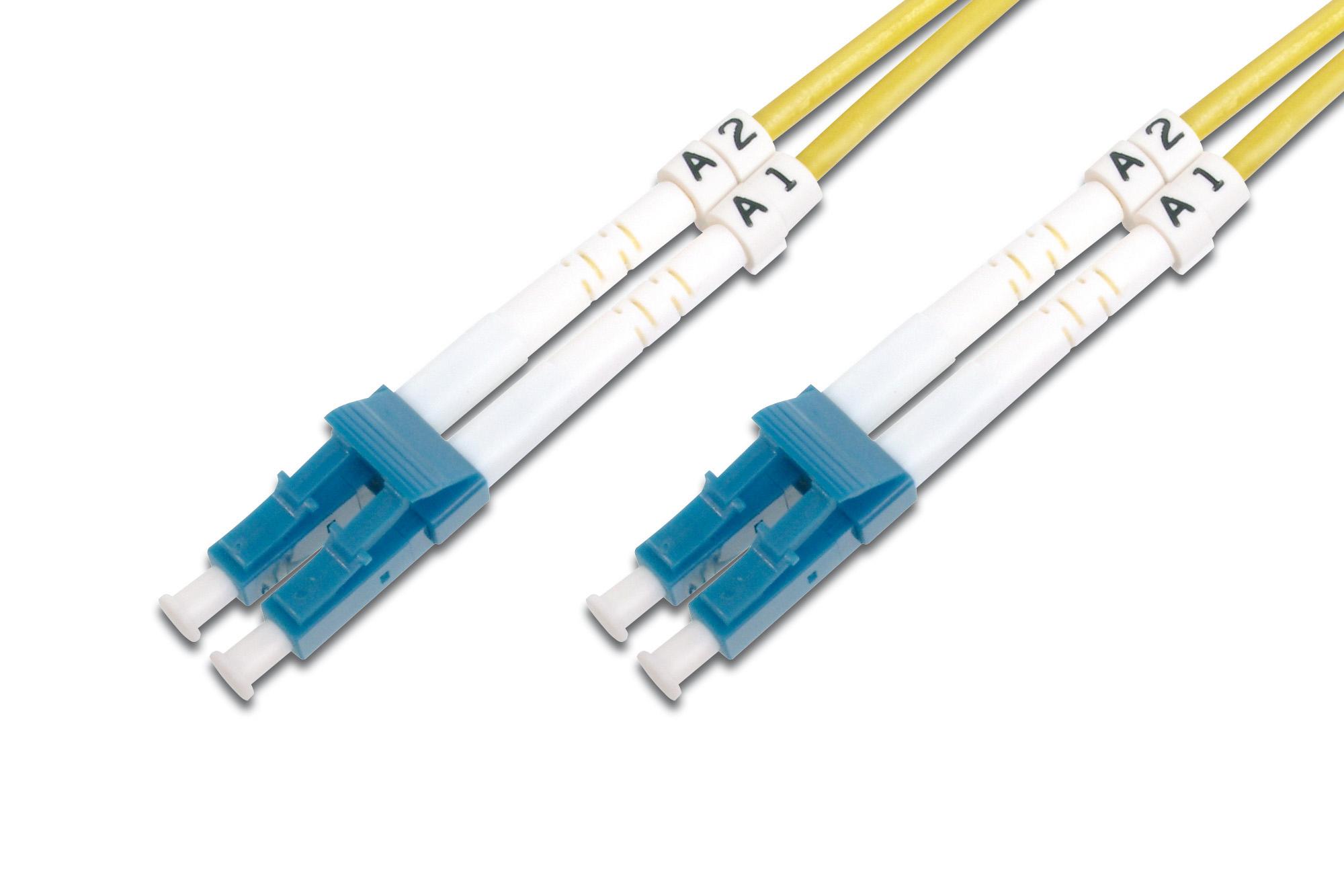 Digitus DK-2933-03 fibre optic cable 3 m LC Yellow