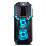 Acer Predator PO5-610 8th gen Intel® Core™ i7 i7-8700 16 GB DDR4-SDRAM 1256 GB HDD+SSD Desktop Black PC Windows 10 Home