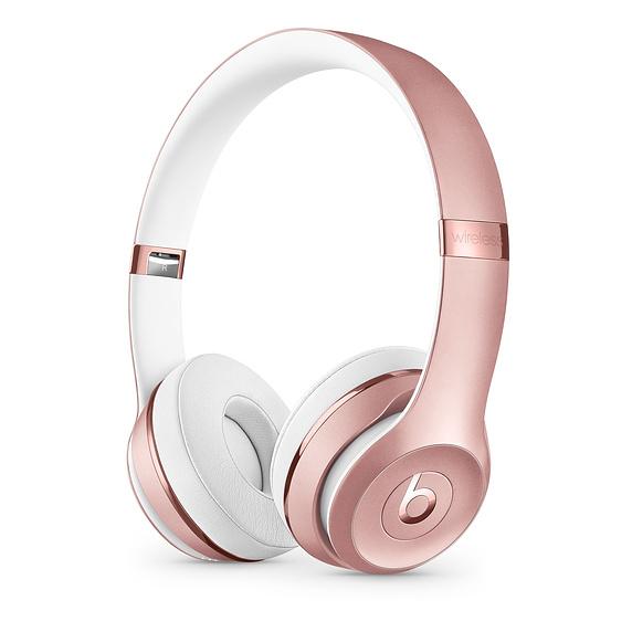 Apple Solo 3 Auriculares Diadema Oro rosa