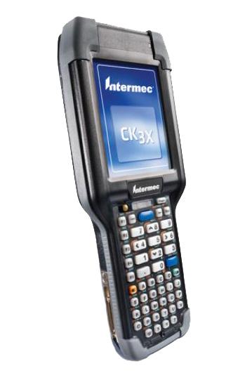 """Intermec CK3X PDA 8,89 cm (3.5"""") 240 x 320 Pixels Touchscreen 499 g Zwart, Grijs"""