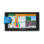 "Garmin DriveSmart 60LMT Fixed 6"" TFT Touch screen 241g Black"