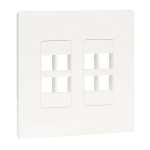 Tripp Lite N080-208 wall plate/switch cover White