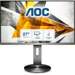 "AOC I2790PQU/BT computer monitor 68,6 cm (27"") 1920 x 1080 Pixels Full HD LED Grijs"