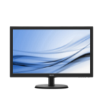 "Philips 21.5"" 1920x1080 5ms VGA DVI-D Black Monitor"