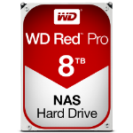 "Western Digital Red Pro 3.5"" 8000 GB Serial ATA III"