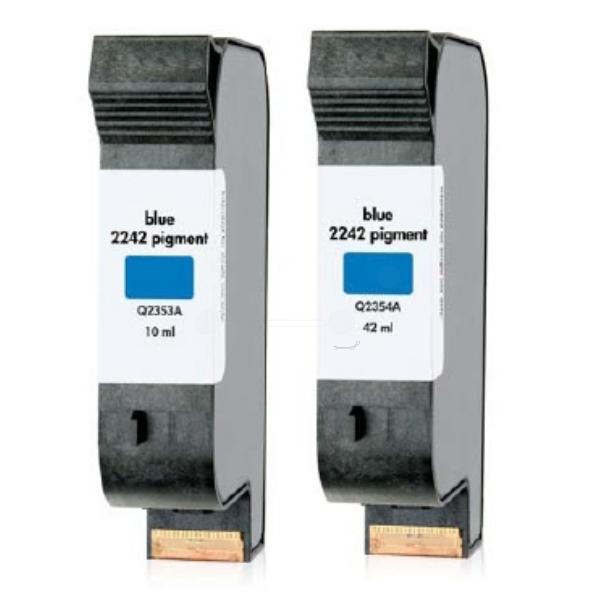 HP Q2354A (2242) Printhead blue, 42ml