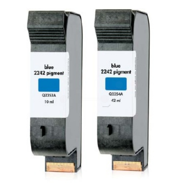 HP Q2354A (2242) Printhead blue, 42ml