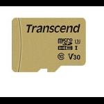 Transcend 500S memory card 64 GB MicroSDXC Class 10 UHS-I