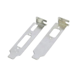 ASUS Low Profile Graphics Card Brackets, (x2), 1 for VGA, 1 for HDMI & DVI